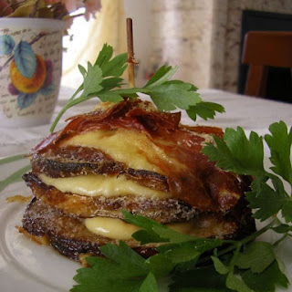 Cheese Eggplant Towers.