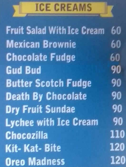 The Sip Shop menu 5