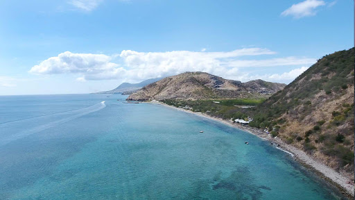 drone-frigate-bay-north2.jpg - Drone image of the coastline of Frigate Bay in St. Kitts, looking north.