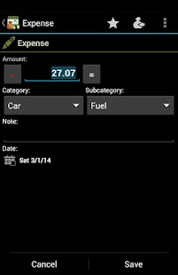 Expenses Recorder- screenshot thumbnail