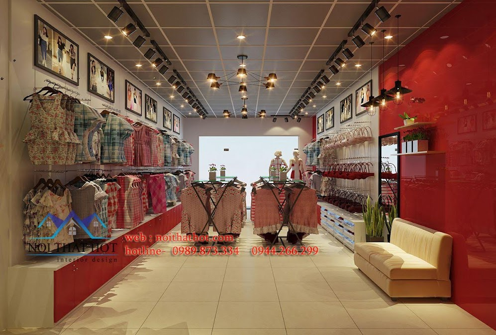 thiết kế shop thời trang và nội y paltal 5