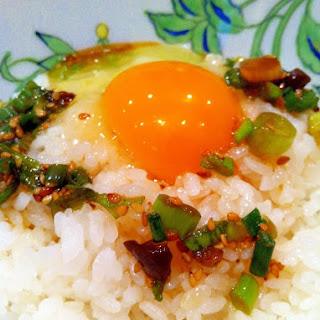 Stamina Egg Bowl with Black Garlic - One Notch Up