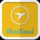 タイ旅行ガイド地図