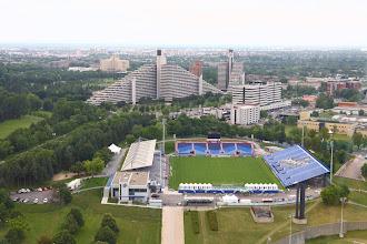 Photo: Complesso sportivo per le olimpiadi '76 (dalla torre di Montreal)