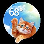Weather Whiskers App & Widget Icon