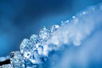 Photo: Cristalli di ghiaccio.