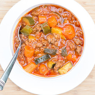 Paleo Chili with Carrots and Zucchini
