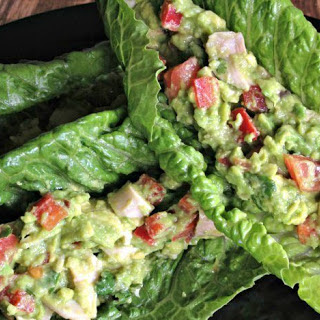 5-Minute Avocado Chicken Lettuce Wraps for a Sandwich Alternative