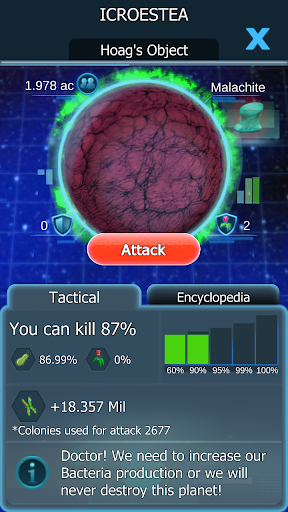 Bacterial Takeover - Idle Clicker 1.27.0 screenshots 1