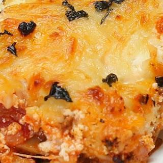 2. One-Pan Lasagna