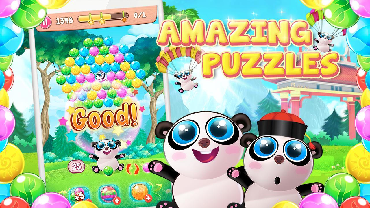 google play panda pop