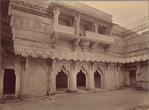Interior of Man Mandir, Gwalior