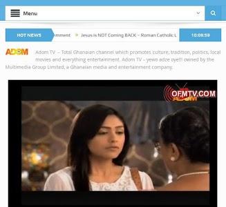 GhanaSky GTV, Adom TV screenshot 10