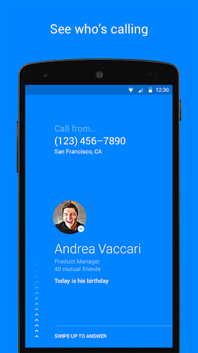 Hello — Caller ID & Blocking Android App Screenshot