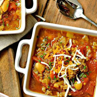 Chili-esque Bean Soup and CROCKPOT GIVEAWAY.