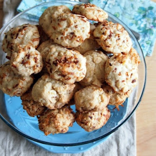 Toasted Coconut White Chocolate Chip Macadamia Cookies
