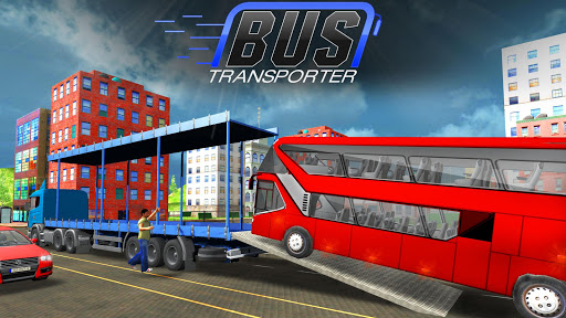 Bus Transporter Truck 2017 - City Bus Simulator 1.7 screenshots 2