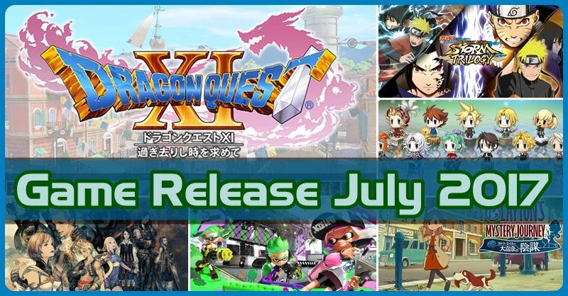 [Game Release] เกมเด็ด! เดือนกรกฏาคม 2017