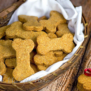 Peanut Butter & Cheese Dog Biscuits Recipe