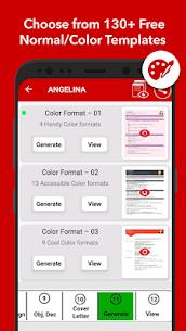 Resume Builder App Free CV Maker & PDF Templates (MOD, Premium) v7.4 3