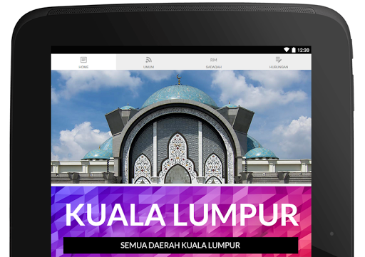 KL Prayer Times Applications (apk) téléchargement gratuit pour Android/PC/Windows screenshot
