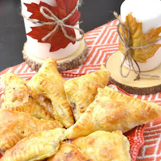 Brie, Raspberry Jalapeno, Pecan stuffed puff pastry appetizer.