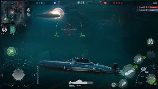 WORLD of SUBMARINES: Navy Shooter 3D Wargame 2.0 screenshots 1