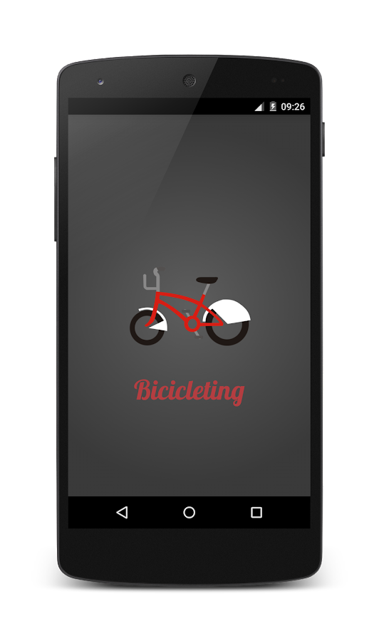 Bicicleting for bicing- screenshot