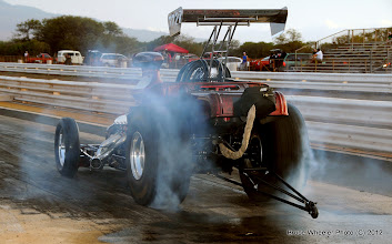 Photo: Joey Amoral broke into the high 7's on the pass that followed this burnout, a first, I believe...