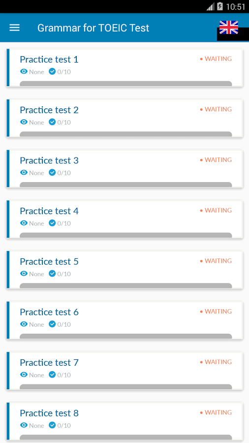 Grammar for TOEIC Test- screenshot