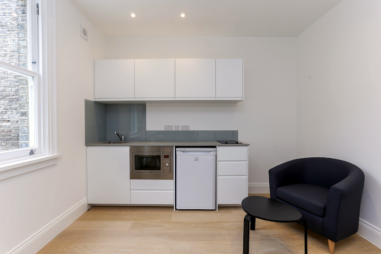 Equipped Kitchen at Kings Cross Apartments