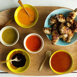 Chicken Wings Five Ways Recipe