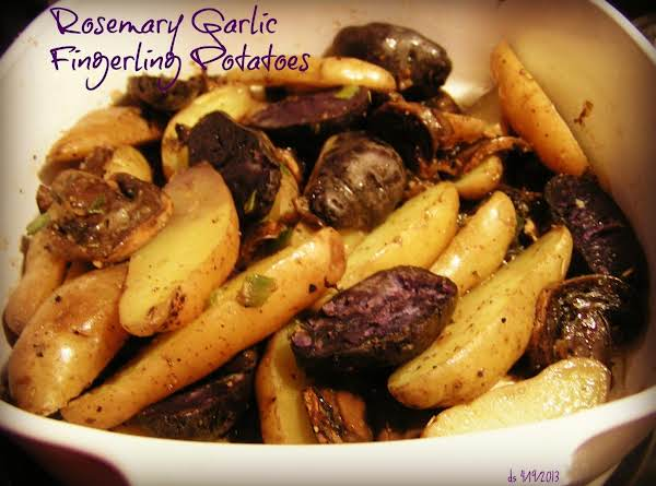 Rosemary Garlic Fingerling Potatoes