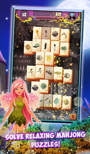 Mahjong Solitaire: Moonlight Magic modavailable screenshots 2