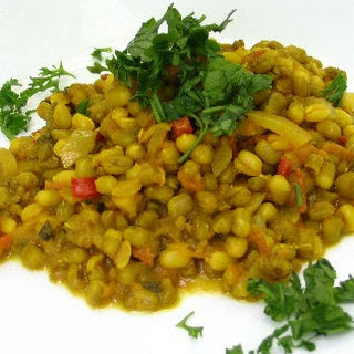 Indian Style Spicy Mung Beans (Moong Dal).