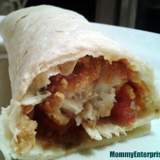 Fish Taco Snack Wrap Recipe + Poptoberfest + Giveaway