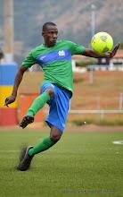 Photo: Leone Stars Goalscorer Sulaiman Sesay [Leone Stars v Swaziland 18 May 2014 (Pic: Darren McKinstry)]