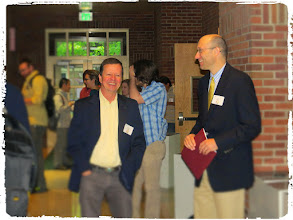 Photo: Assoc. Dean Dr. Fisher and Stat Department Head Dr. Hunter