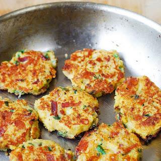 Quinoa, Spaghetti Squash, and Bacon Fritters Recipe