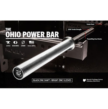 ROGUE Powerlifting bar, IPF approved