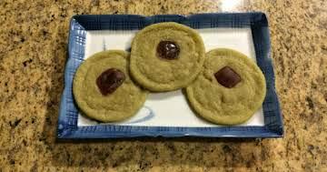 Matcha and Ginger Sugar Cookies