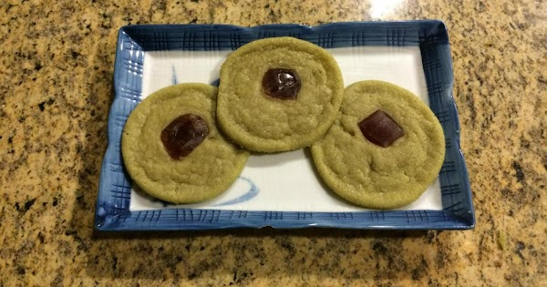 Matcha And Ginger Sugar Cookies Recipe