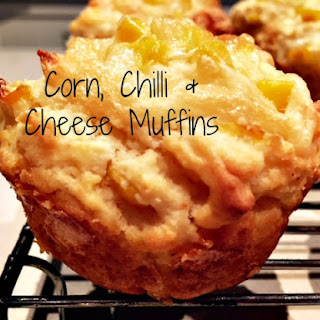 Corn, Chilli & Cheese Muffins.