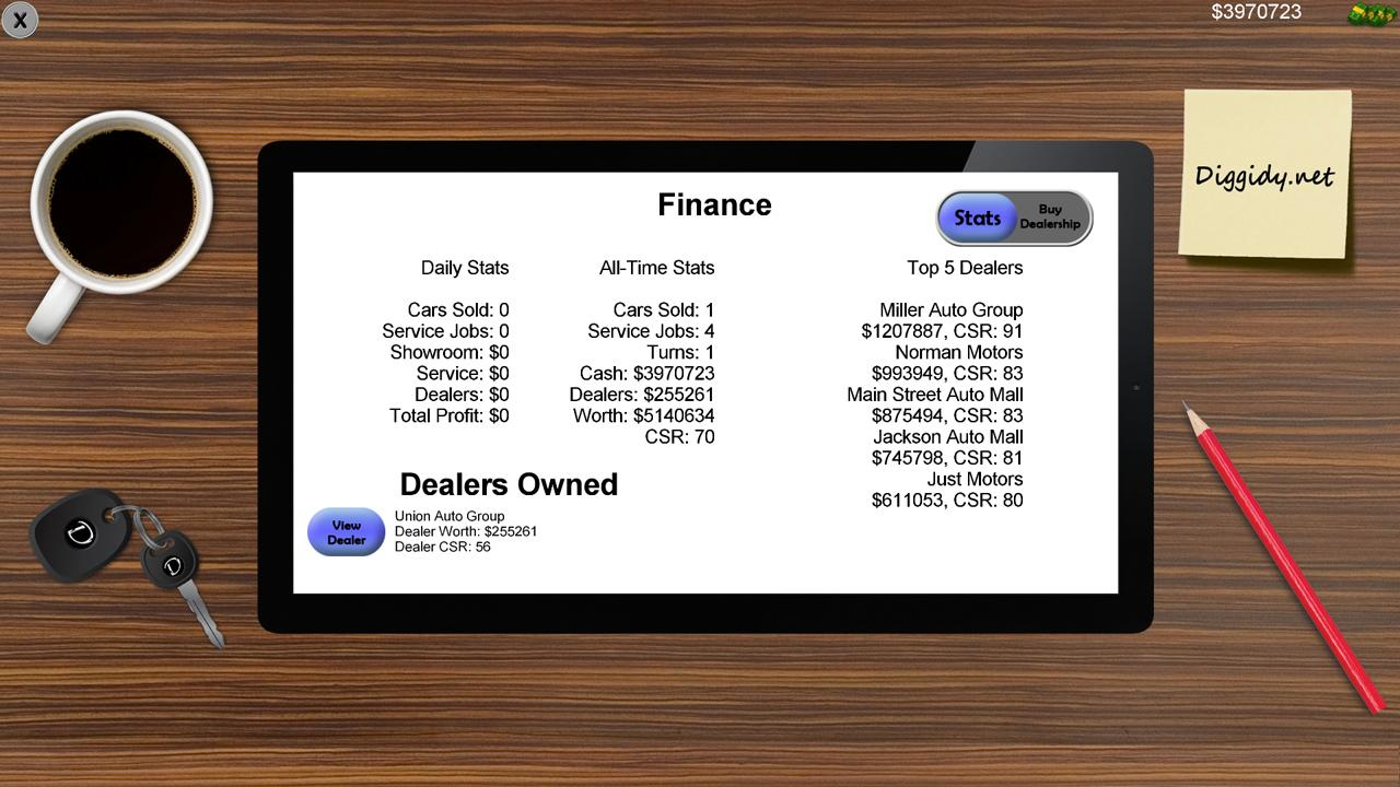 Auto Dealership Tycoon- screenshot