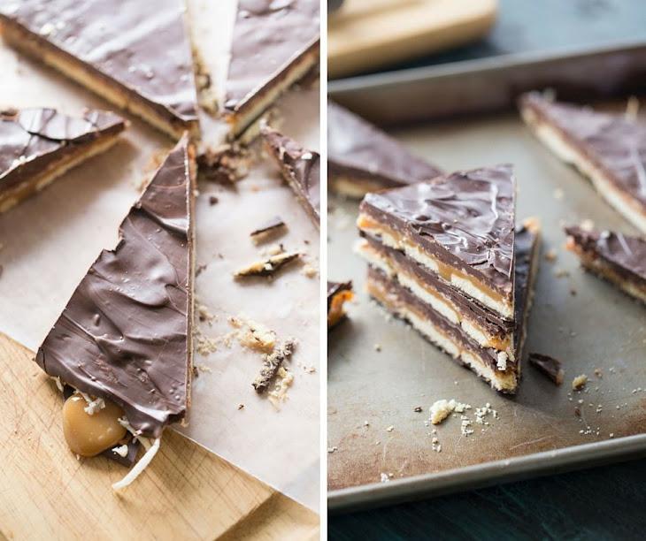 Samoa Cookie Bark Recipe