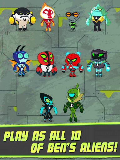 Ben 10 - Super Slime Ben: Endless Arcade Climber filehippodl screenshot 16