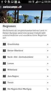 Swisscamps screenshot 1