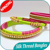 300 Silk Thread Bangles Ideas