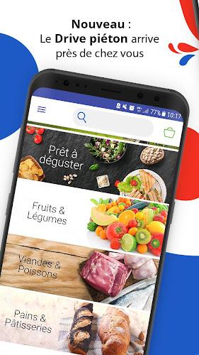 Carrefour Drive, achat et retrait courses en Drive Android App Screenshot