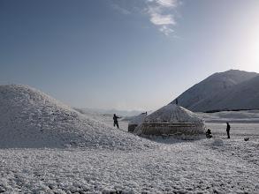 Photo: Achiktash, summer, after snowfall